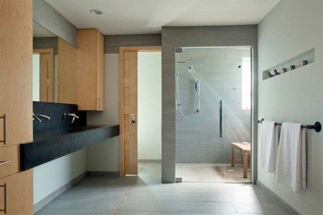canti lever, The Emerald Art Glass, house, Fisher Architecture, South Side, Pittsburgh, architecture, interior, interiors