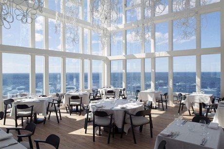 interiors, Fogo Island Inn, five star, hotel, island, coast, Newfoundland, Labrador, Canada, Fogo Island, architecture, Saunders Architecture