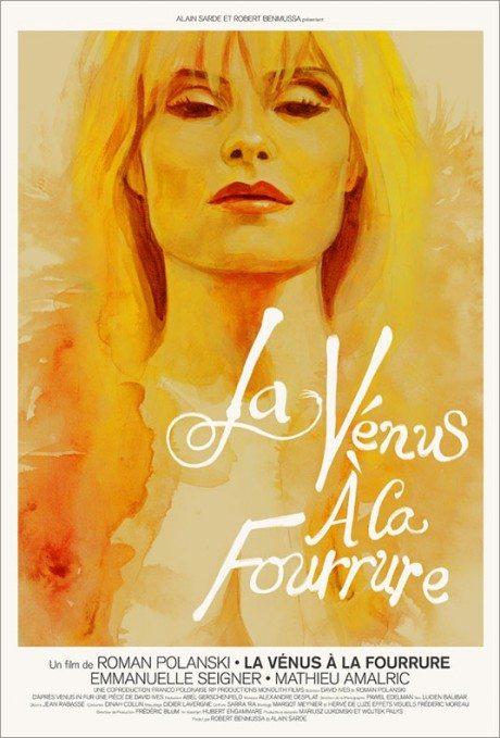 film, film poster, movie poster, illustration, fetish, sado-masochism, VENUS IN FURS, Roman Polanski, France, 2013, Designer, Akiko Stehrenberger