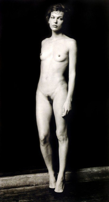 Milla Jovovich, Paolo Roversi, photography, naked, nude, portrait