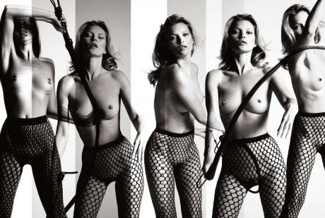 kate moss, moodel, fashion, naked, nude, editorial, The Immaculate Kate Moss, photography, Mart & Marcus, Playboy 60th Anniversary, playboy, playboy magazine