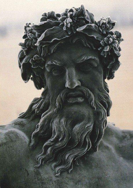 Statue, Zeus, Versailles, sculpture, art, greece, france, greek god, god