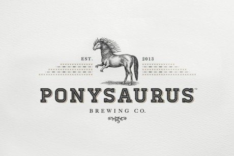 Ponysaurus Brewing Co., Keil Jansen, ponies, dinosaur, beer, baldwin&, brewing, packagin, label, label design, identity, branding, logo