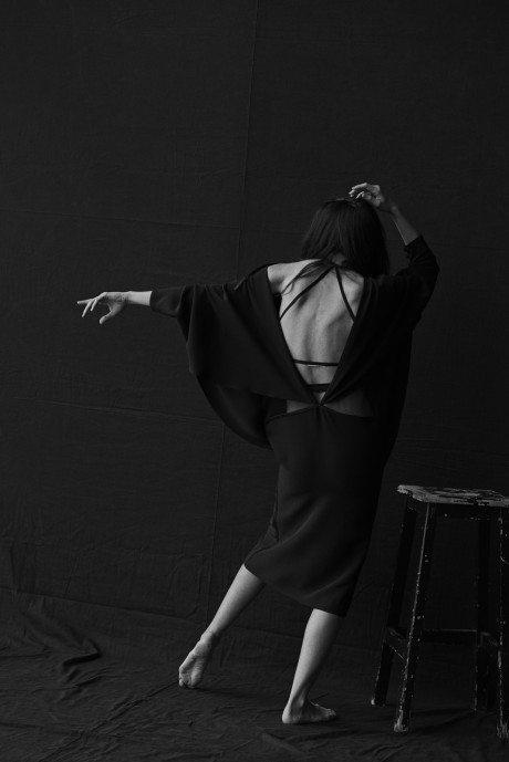 Mariacarla Boscono, model, fashion, dance, photography, Peter Lindbergh, Vogue Italia
