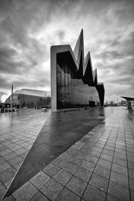 Glasgow Riverside Museum, tallship, architecture, water, ship, boat, travel, museum