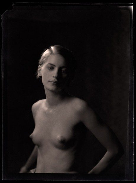 Lee Miller, model, photographer, muse, naked, topless, Arnold Genthe, 1920