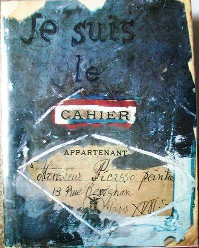 Je Suis Le Cahier, Picasso, sketchbooks, art, artist, notebook