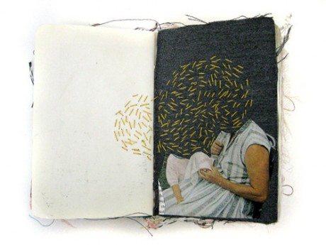 sketchbook, art, craft, fabric, Alison Worman, Book Porn, Maryland, Baltimore, weaving, print making, sewing,