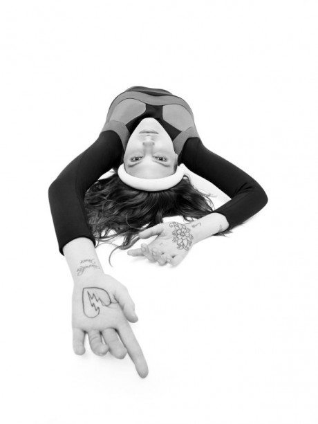 Catherine McNeil, model, fashion, sexy, erotic, provocative, editorial, photography, Daniel Sannwald, POP, magazine, SS 2014