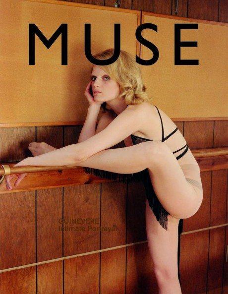 Muse No.37, muse, Spring 2014, Guinevere Van Seenus, model, fashion, editorial, magazine, magazine cover, photography, Venetia Scott