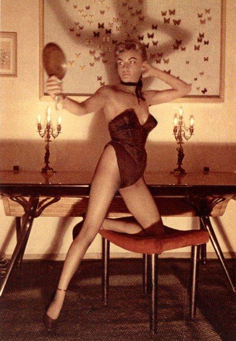 Carlo Mollino, polaroids, women, nude, bush, sexual, sensual, erotic, photographer, photography,