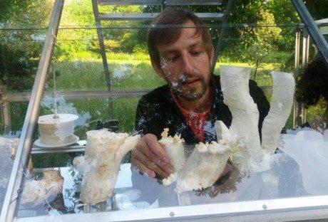 3d printing, mushroom, 3d mushroom, dezeen, Eric Klarenbeek