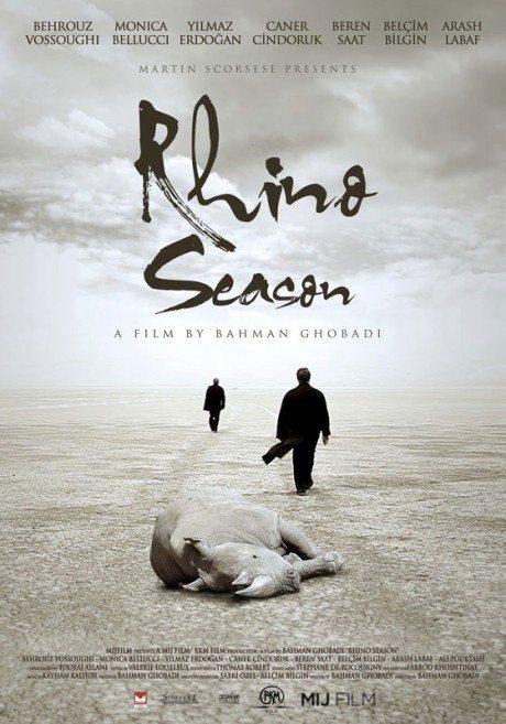 festival, festival poster, film, film poster, movie poster, monica bellucci, poster, Rhino Season, director, Bahman Ghobadi, Iran/Turkey, 2012