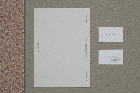 identity, branding, logo, packaging, A. Baker, U-P, boutique design studio, Melbourne, Australia