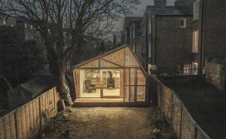£31,000, architecture, Weston Surman & Deane, garden, studio, workspace, studio space, Hackney, author, illustrator