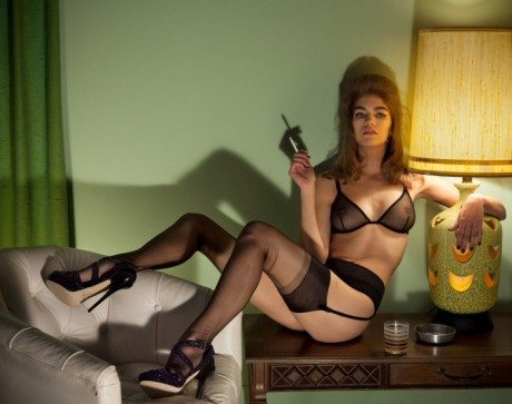 Park + Ride, Samantha Gradoville, Chas Ray Krider, Ponystep, #4, Spring 2013, lingerie, underwear, raunchy, stockings, suspenders, bra, knickers, sexy, fetish