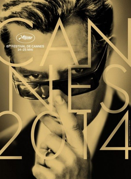official poster, film poster, movie poster, film festival, cannes, 2014, 2014 Cannes Film Festival, poster, designer, Herve Chigioni, Gilles Frappie