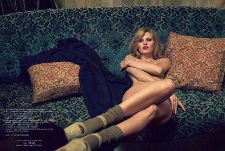La Bouche, 032c, No.26, Summer 2014, Photographer, photography, model, lara stone, fashion, editorial, Sean & Seng
