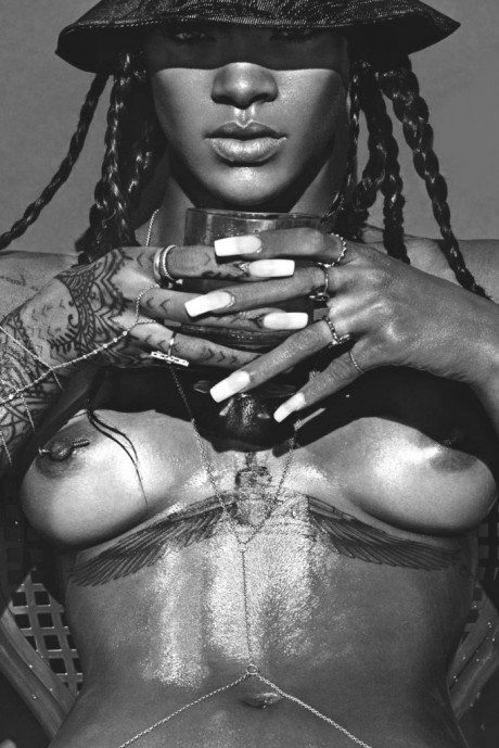 Lui May 2014, Rihanna, Lui, October 1972, Karin Schubert, 1970's, German, actress, pornographic actress, nude, breasts, naked, porny, porno, sexy
