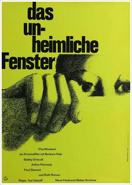 film, film poster, movie poster, r.i.p., designer, illustrator, Hans Hillmann, 4th May 2014, 1966, Le Fou Follet, The Fire Within, director, Louis Malle, France, 1963, 1961, German, design, Ted Tatzlaff, 1949, US movie, The Window, 1968, German, poster, John Cassavetes, Shadow's, USA, 1959, 1959, German, poster, Kenji Mizoguchi, 1953, Ugetsu Monogattari, Japan, 1953, 1961, German, poster, Frank Capra, 1946, movie, Mr Deeds Goes To Washington, USA, 1936, illustration, 1962, German, poster, Akira Kurosawa, The Seven Samurai, Japan, 1954