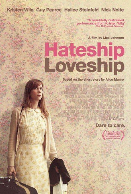hateship loveship, movie, film, film poster, movie poster, colour
