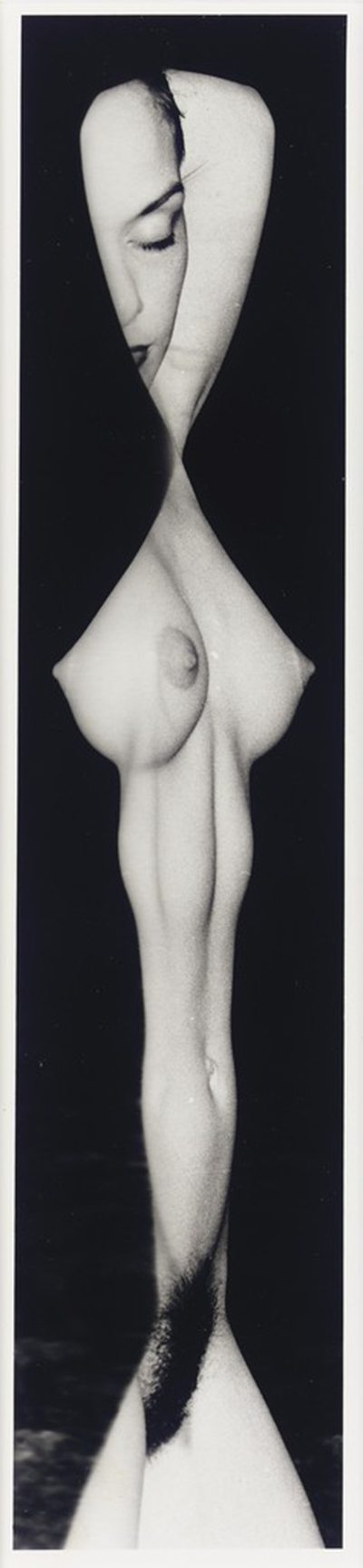 weegee, photography, naked, nude, noir, black & white, 1950s, 50s