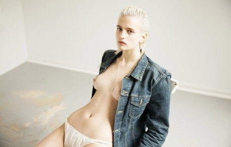 Veronika Vilim, model, fashion, photography, topless, breasts, photographer, blonde, Daron Bailey