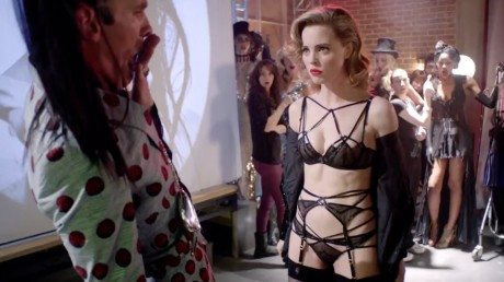 Agent Provocateur, Control Yourself, Video, Actress Melissa Gilbert, Chloe Hayward, Elettra Wiedermann, fashion, underwear, lingerie, raunchy, bra, knickers, stockings, suspenders, sexy, see-through, film