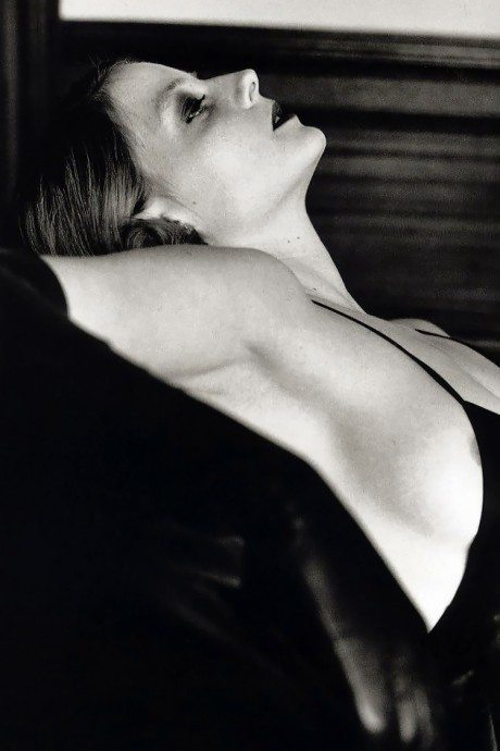 jodie foster, actress, film, lesbian, helmut newton, photographer, photography, portrait, nipple