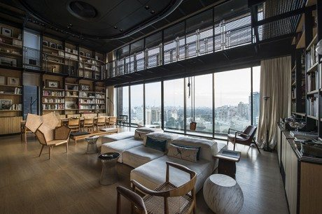 architect, architecture, interiors, Bernard Khoury, N.B.K. Residence 2, penthouse, Plot # 2251 project, Beirut