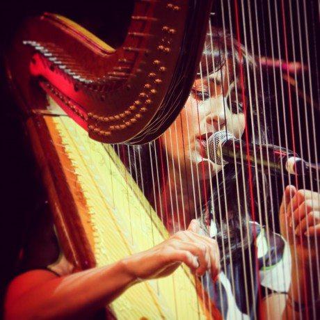 harp, Lucinda Belle, jazz, enland, uk,