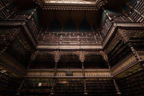 Royal Portuguese Cabinet of Reading, Rio de Janeiro, Brazil, library, interior, photography, books, reading, biblioteque