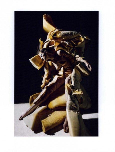 Guinevere van Seenus, Mario Sorrenti, 10 Magazine, model, fashion, photographer, editorial, naked, nude, breasts