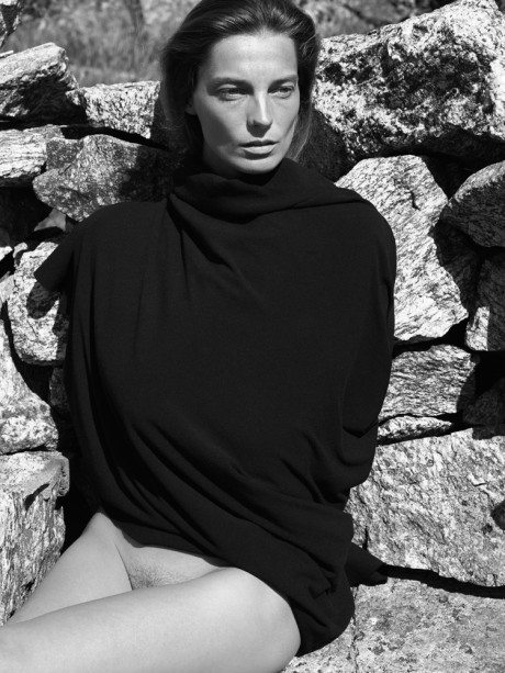 supermodel, Daria Werbowy, photography, Mikael Jansson, Interview, magazine, fashion, editorial, naked, topless