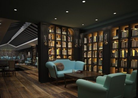 Ronald Ndoro, library, member's club, club, 19 greek st, london, club, books, hotel, restaurant