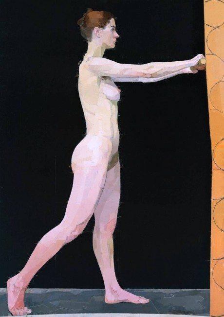 Euan Uglow, artist, art, painting, nude, naked