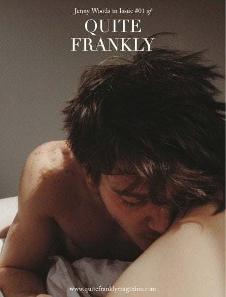 quite frankly, quite frankly magazine, erotic, sensual, erotic, explicit, sex, adult, top shelf, george pitts, mikey mcmichaels, jenny bunny, jenny woods, ferry van der nat, splice, jo scwab, nettie harris, marilyn cole, playboy, playmate of the year, magazine