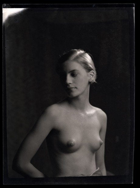 portrait, artist, photographer, model, muse Lee Miller, Arnold Genthe, photography