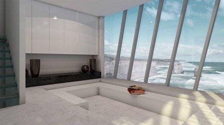 architecture, interior, house, home, design, Modscape, holiday home, south-west coast, Victoria, Australia.
