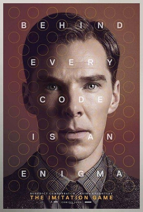 imitation game, the imitation game, film, film poster, movie poster, poster, film, benedict cumber batch, alan turing, computer, computing, code-breaker
