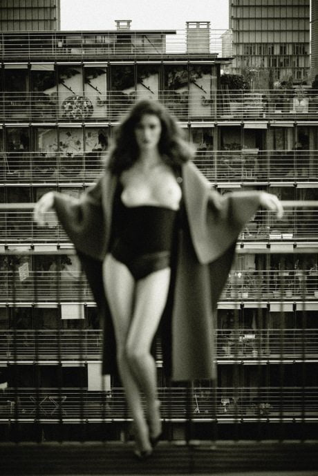 Maud Le Fort, model, fashion, photography, sexy, breasts, topless, Pierre Dal Corso, French Revue de Modes