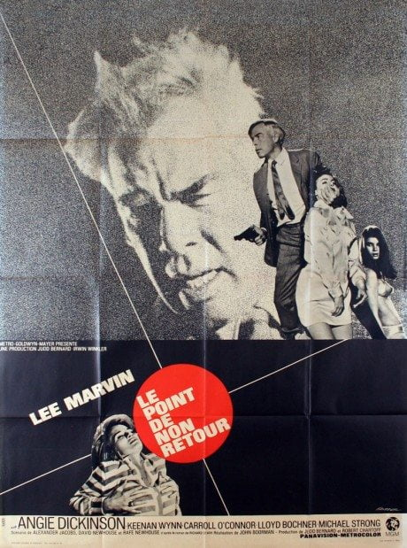French grande, movie poster, film poster, film, illustration, poster,Point Blank, POINT BLANK , director, John Boorman, USA, 1967, classic, hard-boiled, crime, film, designer, poster, Vaisseur