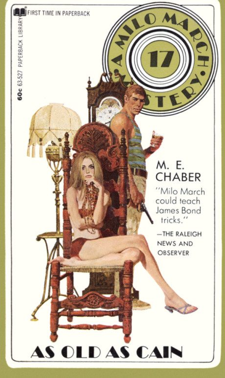 Robert McGinnis, illustration, art, nude, sexist, sexy, pulp, pulp book, book cover, cover, robert mcginnis
