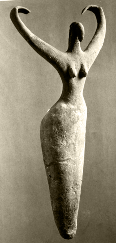 Female figure, c. 3500 BCE,1907, Ma'mariya, Egypt, figurative, art, symbolic, sculpture, woman, symbolism,