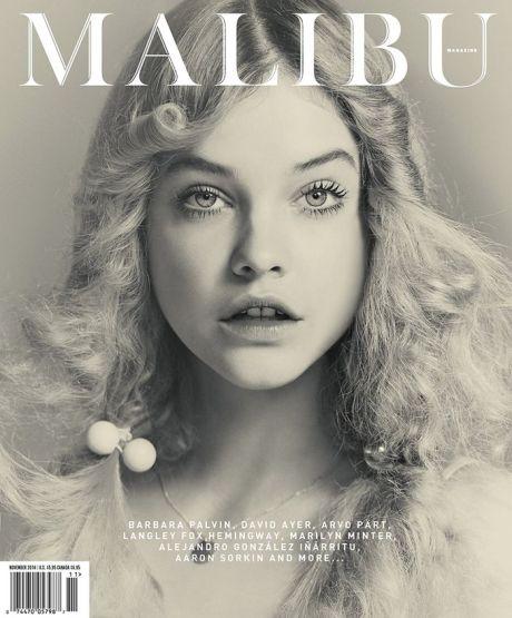 Malibu, magazine cover, fashion, magazine, November 2014, Barbara Palvin, cover, photographer, photography, Guy Aroch