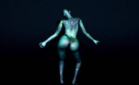 arca, video, music video, thievery, naked, butt, bottom