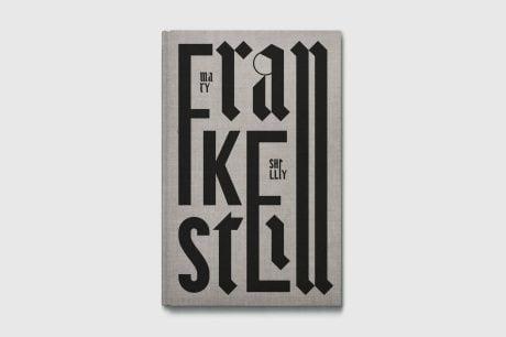 Maciej Ratajski Classics, Maciej Ratajski, book design, books, typography, frankenstein