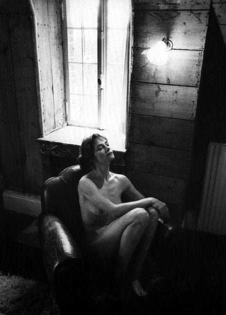 Charlotte Rampling, Jeanloup Sieff, actress, film, naked, nude, portrait