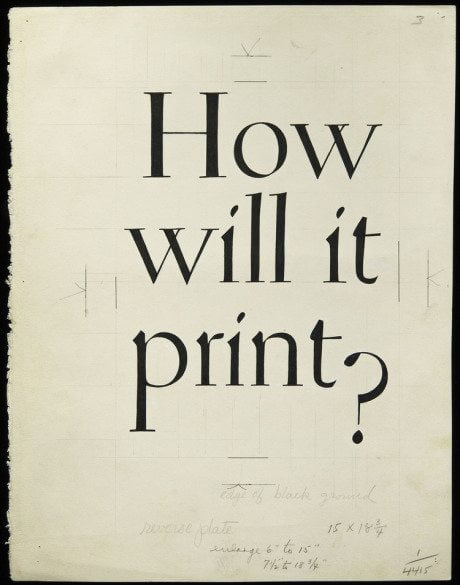 Brochure, brochure cover, W.A. Dwiggins, 1930, publication, typography, print