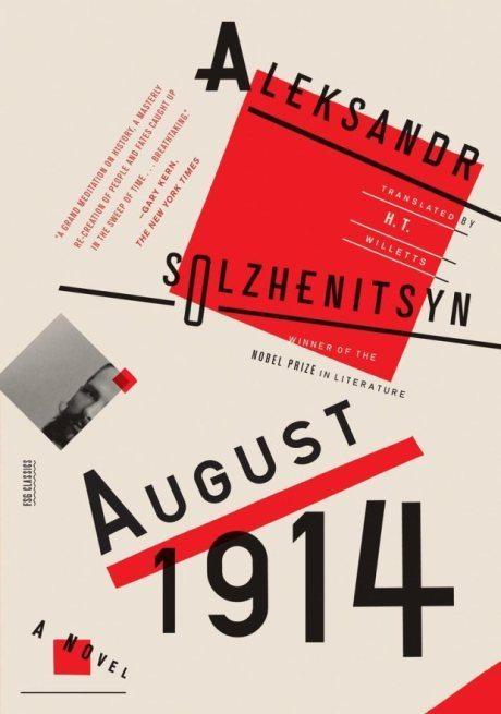 Aleksandr Solzhenitsyn, design, Oliver Munday, FSG / 2014, book, book cover, illustration, typography, russia